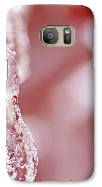 Galaxy Case featuring the photograph Frozen Jewel  by Debbie Oppermann