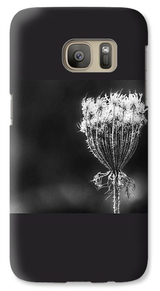 Galaxy Case featuring the photograph Frozen Queen by Melanie Lankford Photography