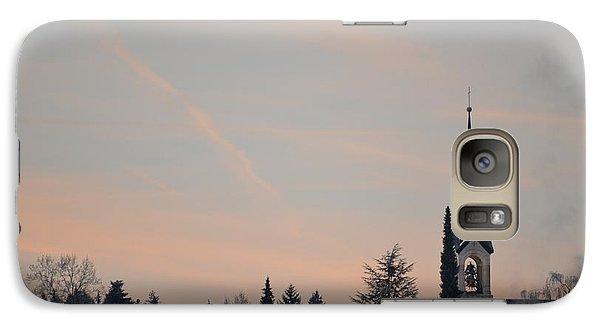 Galaxy Case featuring the photograph Frozen Sky 2 by Felicia Tica