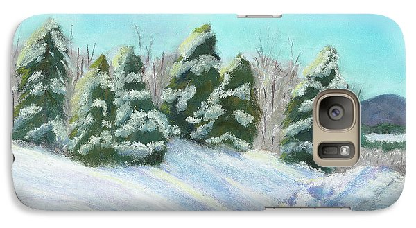 Galaxy Case featuring the painting Frozen Sunshine by Arlene Crafton