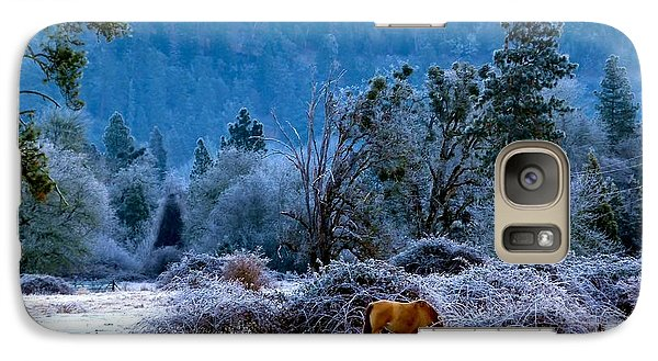 Galaxy Case featuring the photograph Frozen Turf by Julia Hassett