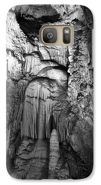 Frozen Waterfall In Carlsbad Caverns Galaxy S7 Case by Melany Sarafis