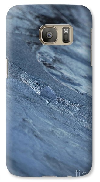 Galaxy Case featuring the photograph Frozen Wave by First Star Art