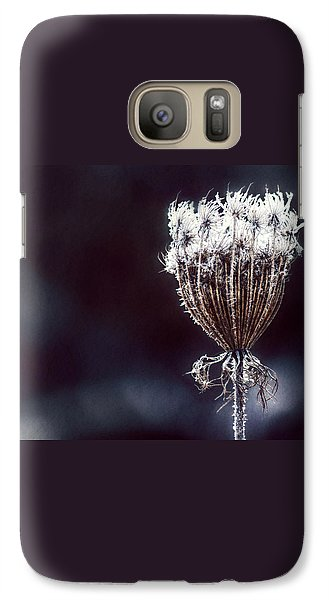 Galaxy Case featuring the photograph Frozen Wisps by Melanie Lankford Photography