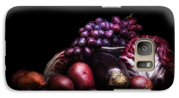 Fruit And Vegetables Still Life Galaxy S7 Case by Tom Mc Nemar