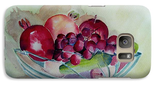 Galaxy Case featuring the painting Fruit Bowl Still Life by Geeta Biswas