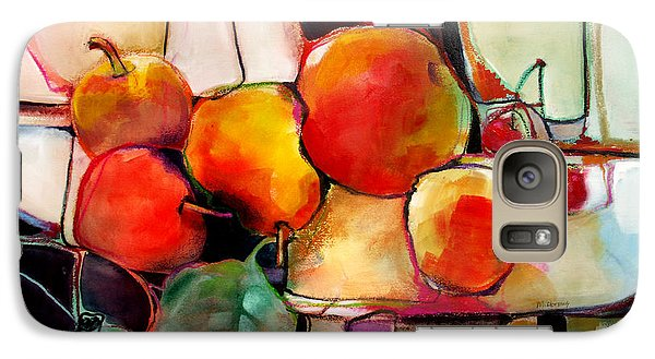 Galaxy Case featuring the painting Fruit On A Dish by Michelle Abrams