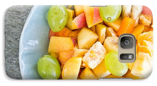 Mango Galaxy S7 Case - Fruit Salad by Tom Gowanlock