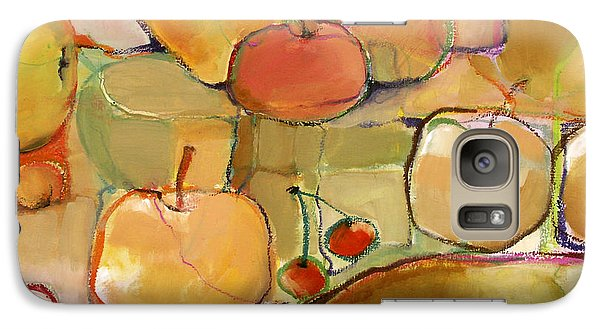 Galaxy Case featuring the painting Fruit Still Life by Michelle Abrams