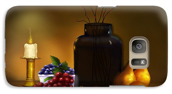 Galaxy Case featuring the painting Fruits Of Life by Sena Wilson