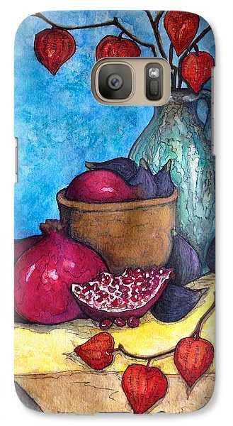 Galaxy Case featuring the painting Fruits Of Season  by Rae Chichilnitsky