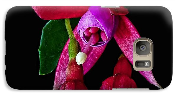 Galaxy Case featuring the photograph Fuchsia by Shirley Mangini