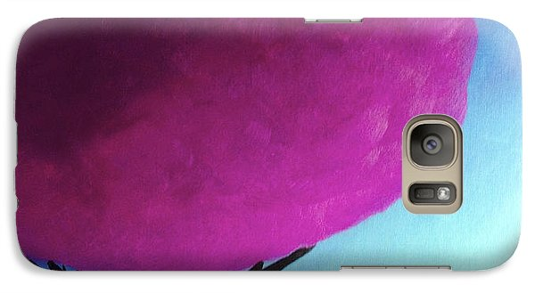 Galaxy Case featuring the painting Fuchsia Tree by Anita Lewis