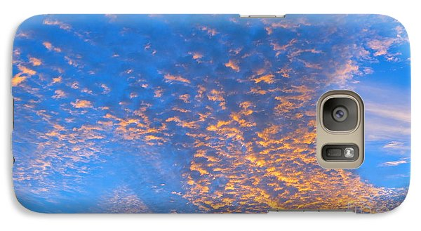 Galaxy Case featuring the photograph Fulgent Funneling by Joy Hardee