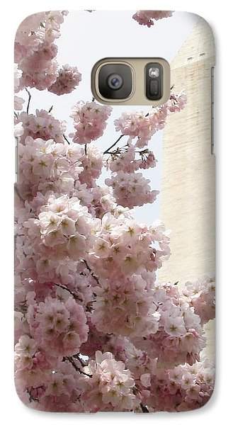 Galaxy Case featuring the photograph Full Bloom In Dc by Jennifer Wheatley Wolf