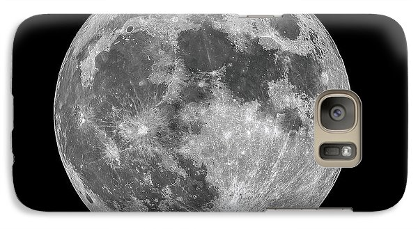 Galaxy Case featuring the photograph Full Moon by Dennis Bucklin