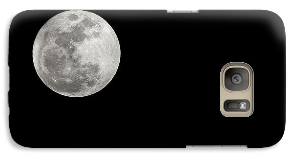 Galaxy Case featuring the photograph Full Moon by Yvonne Emerson AKA RavenSoul