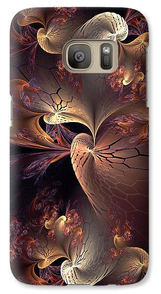 Galaxy Case featuring the digital art Full Of Grace by Kim Redd