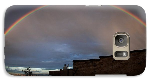 Galaxy Case featuring the photograph Full Rainbow Over The Cuban Queen by Ron Chilston