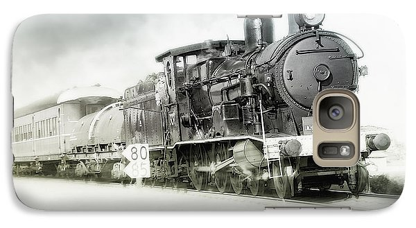 Galaxy Case featuring the photograph Full Steam Ahead by Kevin Chippindall