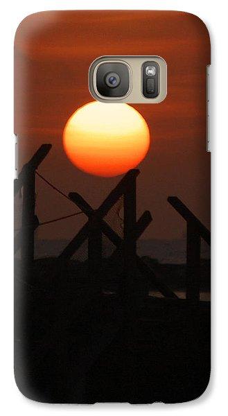 Galaxy Case featuring the photograph Full Sun by Leticia Latocki
