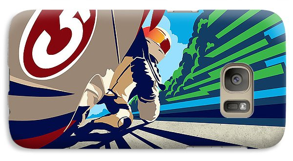 Motorcycle Galaxy S7 Case - Full Throttle by Sassan Filsoof