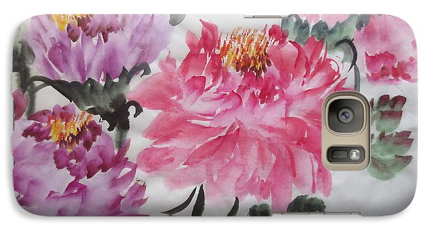 Galaxy Case featuring the painting Fun030914-529 by Dongling Sun
