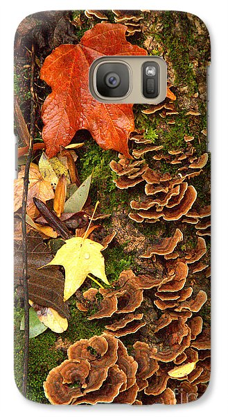 Galaxy Case featuring the photograph Fungi by Jim McCain