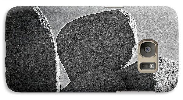 Galaxy Case featuring the photograph Funky Grainy High Desert Rocks by Carolina Liechtenstein