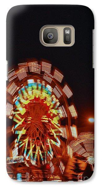 Galaxy Case featuring the photograph Fur Rondy Ferris Wheel In Anchorage by Cynthia Lagoudakis