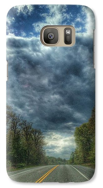 Galaxy Case featuring the photograph Furnace Branch Road by Toni Martsoukos