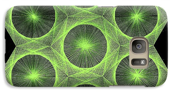 Galaxy Case featuring the drawing Fusion  by Jason Padgett