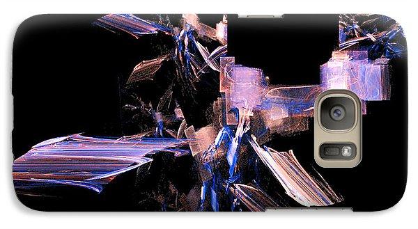 Galaxy Case featuring the digital art Future Tech by R Thomas Brass