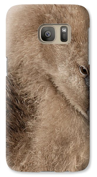 Galaxy Case featuring the photograph Fuzzy Flamingo Baby by Bob and Jan Shriner