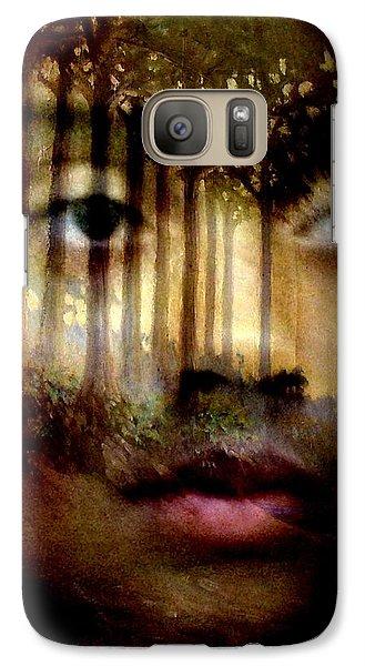 Galaxy Case featuring the photograph Gaia by Jodie Marie Anne Richardson Traugott          aka jm-ART