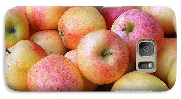 Galaxy Case featuring the photograph Gala Apples by Joseph Skompski