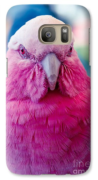 Galah - Eolophus Roseicapilla - Pink And Grey - Roseate Cockatoo Maui Hawaii Galaxy S7 Case