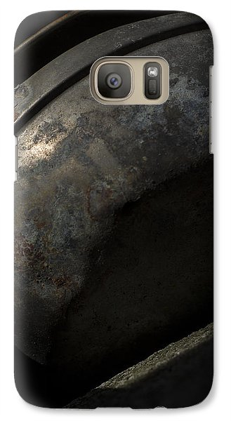 Galaxy Case featuring the photograph Galaxy In A Galvanized Pan by Rebecca Sherman
