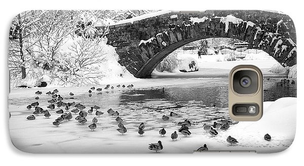 Gapstow Bridge In Snow Galaxy S7 Case