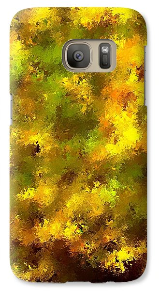 Galaxy Case featuring the mixed media Garden Boss by Terence Morrissey