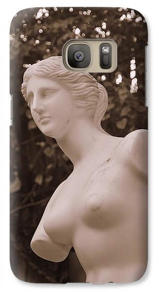 Galaxy Case featuring the photograph Garden Bust by George Mount