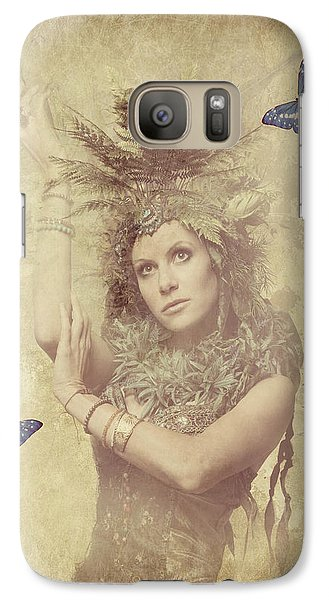Galaxy Case featuring the digital art Garden Fairy by Riana Van Staden
