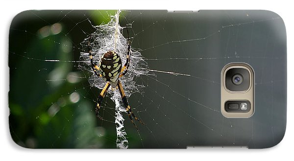 Galaxy Case featuring the photograph Garden Friend by Tannis  Baldwin