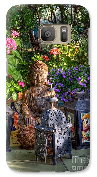 Garden Meditation Galaxy S7 Case