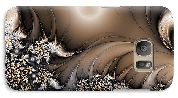 Galaxy Case featuring the digital art Garden Of The Future by Gabiw Art