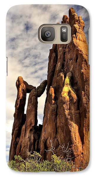 Galaxy Case featuring the photograph Garden Of The Gods by Cheryl Davis