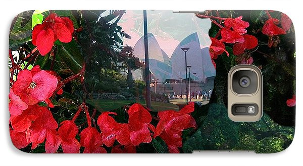 Galaxy Case featuring the photograph Garden Whispers by Leanne Seymour