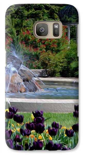 Galaxy Case featuring the digital art Gardens At Maymont by Kelvin Booker