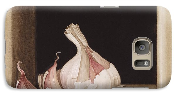 Garlic Galaxy S7 Case by Jenny Barron