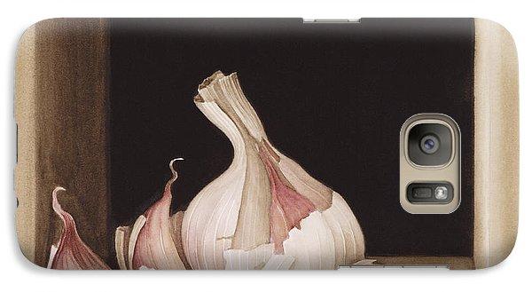 Garlic Galaxy S7 Case by Jenny Barron